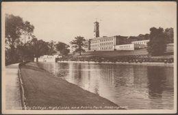University College, Highfields And Public Park, Nottingham, C.1930 - RA Series Postcard - Nottingham