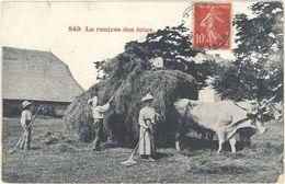 Cpa 48 , Région – La Rentrée Des Foins - France