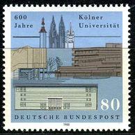 BRD - Mi 1370 - ** Postfrisch (C) - 80Pf    800 Jahre Uni Köln - [7] Repubblica Federale
