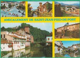 64 - Amicalement De Saint Jean Pied De Port - Multi-vues - Editeur: Yvon N°10640064 - Saint Jean Pied De Port
