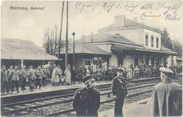 Cpa 55 – Montmédy – Bahnhof ( Gare, Correspondance Militaire ) - Montmedy