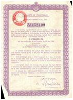 """Actions & Titres  Royaume De  """"Yougoslavie"""" 1933 - Azioni & Titoli"""