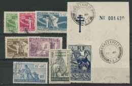 Colonies Generales N 60 A 66 + PA N1 (o) - France (ex-colonies & Protectorats)