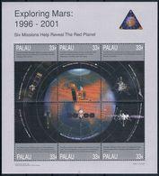 Bloc Sheet Espace Space  Neuf ** MNH  Palau 1999 - Space