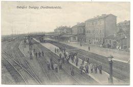 Cpa 59 – Busigny – Bahnhof ( Nordfrankreich ), Gare - France