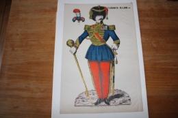 Imagerie  Populaire  Le Tambour Major   Second Empire - Documentos