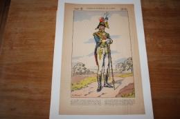 Imagerie  Populairetambour Major De La Garde Illustrateur Huen - Documents