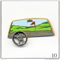 Pin's - Sport - Golf / Open Peugeot N° 01. Est. Arthus Bertrand Paris. Zamac. T209-10 - Golf