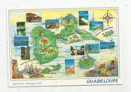 Carte Géographique , GUADELOUPE , Multi Vues , écrite , Ed Exbrayat - Cartes Géographiques