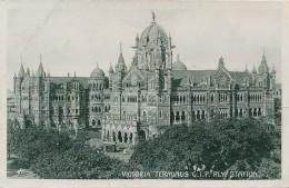 XIND.43.  Mumbai - Bombay - Victoria Terminus G.I.P. Rly. Station - India
