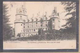 """CPA   Le Chateau D'ANTOING Une Vue De Cote Le 5 II 1905  Pour PARIS """" Cachet DAGUIN 2BD De ARRAS Pas De Calais """" - Antoing"""