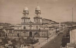 Guayaquil Ecuador, Plaza Rocafuerte Square, Architecture, C1940s Vintage Real Photo Postcard - Ecuador