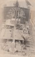 Cargo Ship In Panama Canal Locks 'USS G??yona' (?) Written On Back, C1920s/30s Vintage Postcard - Panama
