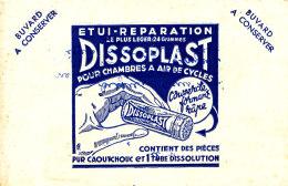 BU 1493 /   BUVARD - ETUIT REPARATION DISSOPLAST - Buvards, Protège-cahiers Illustrés
