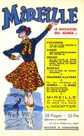 BU 1495 /   BUVARD -  MIREILLE LE MAGASINE DES JEUNES - Blotters
