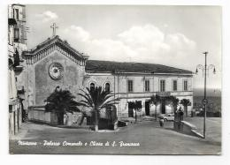 MINTURNO - PALAZZO COMUNALE E CHIESA DI S.FRANCESCO  VIAGGIATA FG - Latina