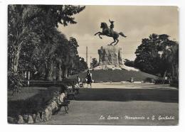 LA SPEZIA - MONUMENTO A G.GARIBALDI  VIAGGIATA FG - La Spezia