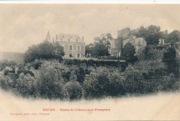 CPA 58 DECIZE Restes Du Château Et Le Presbytère époque Précurseur  édition Desvignes - Decize