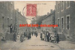 CPA 71 EPINAC LES MINES Très Rare Carte Sortie De La Verrerie édition Jondeau - Autres Communes