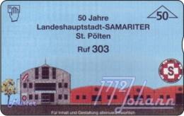 TWK Österreich Privat: 'Samariter St. Pölten -  50E' Gebr. - Austria