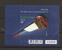 SLOVENIA 2011,MI. NO   BLOCK 56,,,MNH - Eslovenia