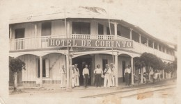 Corinto Nicaraugua, Hotel De Corinto, US Navy Sailors C1910s Vintage Real Photo Postcard - Nicaragua