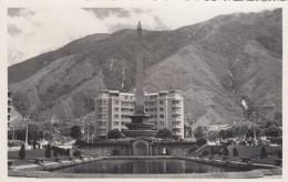 Caracas Venezuela, Altamira Obelisk, Architecture, C1940s Vintage Real Photo Postcard - Venezuela