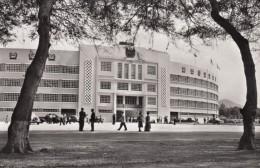 Lima Peru, 'October 27th' National Stadium Facade, Auto, C1940s/50s Vintage Real Photo Postcard - Peru