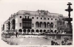 Lima Peru, Palacio De La Municipalidad City Government Building, C1950s Vintage Real Photo Postcard - Peru