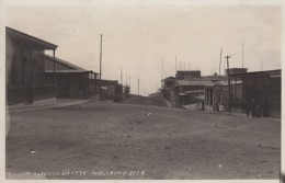 Mollendo Peru, Calle Alfonso Duarte Street Scene, C1910s Vintage Real Photo Postcard - Peru