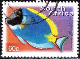 SOUTH AFRICA 2000 Flora And Fauna - 60c - Powder-blue Surgeonfish FU - Afrique Du Sud (1961-...)