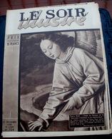 """LE SOIR ILLUSTRE N° 704 Du 20 Décembre 1945  Thierry BOUTS  L'Ange Du Panneau De La """"rencontre D'Abraham Et De ... - Books, Magazines, Comics"""