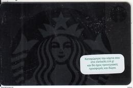 GREECE - Starbucks Logo, Starbucks Card, CN : 6141, Unused - Gift Cards