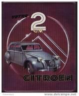 """Petite Plaque Métal """"CITROEN 2CV"""" - Advertising (Porcelain) Signs"""
