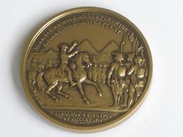 Médaille NAPOLEON EN EGYPTE 25 Juillet 1793   **** EN ACHAT IMMEDIAT **** - Royal / Of Nobility