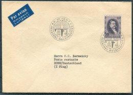 1957 Finland Germany Helsinki - Bonn First Flight Cover - Airmail