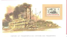 USA  1812  Riverboat - Boten