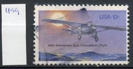 Etats Unis - Vereinigte Staaten - USA 1977 Y&T N°1159 - Michel N°1298 (o) - 13c Spirit Of Saint Louis - Etats-Unis