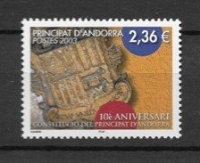 2003  MNH Andorra (French), Postfris** - French Andorra