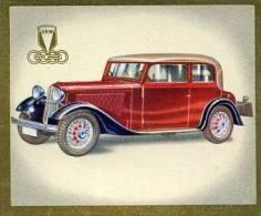 Zigarettenbild  Das Auto Von Heute  DKW  Bild 31 - Cigarette Cards