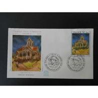 FDC - Eglise D'Auvers Sur Oise De Van Gogh - 27/10/1979 Paris - 1970-1979