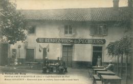 71 FLEURVILLE  /  Pont De Vaux Fleurville Café Restaurant Du Port  Maison Giraudon / - France