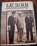 LE SOIR ILLUSTRE N° 685 Du 9 Aout 1945 La Rencontre Du Roi Et Du Président - Books, Magazines, Comics