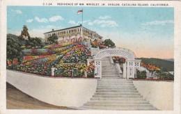 California Catalina Island Avalon Residence Of William Wrigley Jr - Verenigde Staten