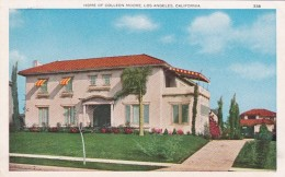 California Los Angeles Home Of Colleen Moore - Los Angeles
