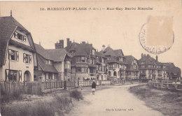 Hardelot Plage (62) - Rue Guy Barbe Blanche - France