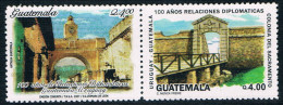 Guatemala And Uruguay MediaTek 2007 World Heritage Stamps 2 New 1227 - Uruguay