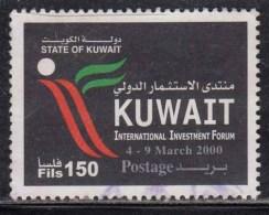 Kuwait 150f Used 2000, International Investment Forum,  Trade, Finance, Economy, Commerce, - Kuwait