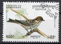 Cambogia 1994 Sc. 1399 Birds Uccelli - Zigolo Baschereccio - Emberiza Rustica - Cambodia Cambodge Nuovo CTO - Sparrows