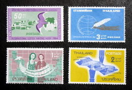 Thailand Stamp 1964 International Letter Writing Week - Thaïlande